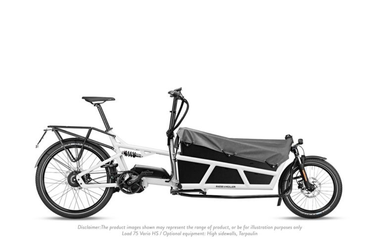 Riese and Muller Load 75 Vario HS White - Propel E-Bikes