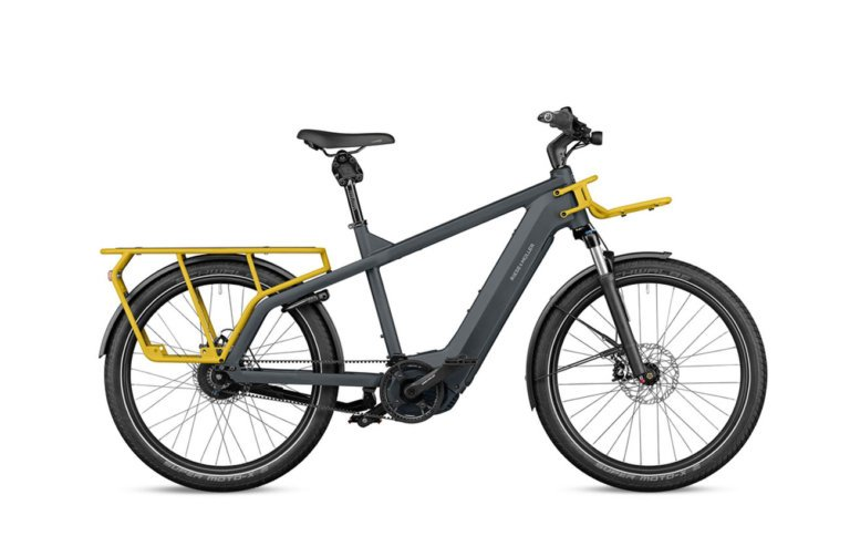 Riese and Muller Multicharger GT Vario Utility Grey Curry Matt - Propel E-Bikes