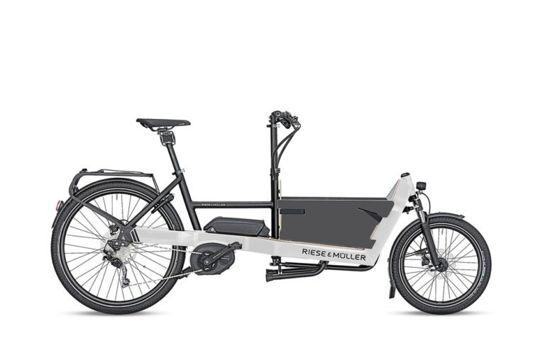 Riese and Muller Packster 40 Touring Light Grey - Propel E-Bikes