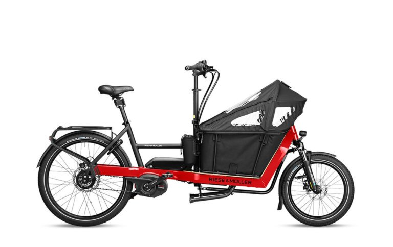 Riese and Muller Packster 40 Vario Racing Red - Propel E-Bikes
