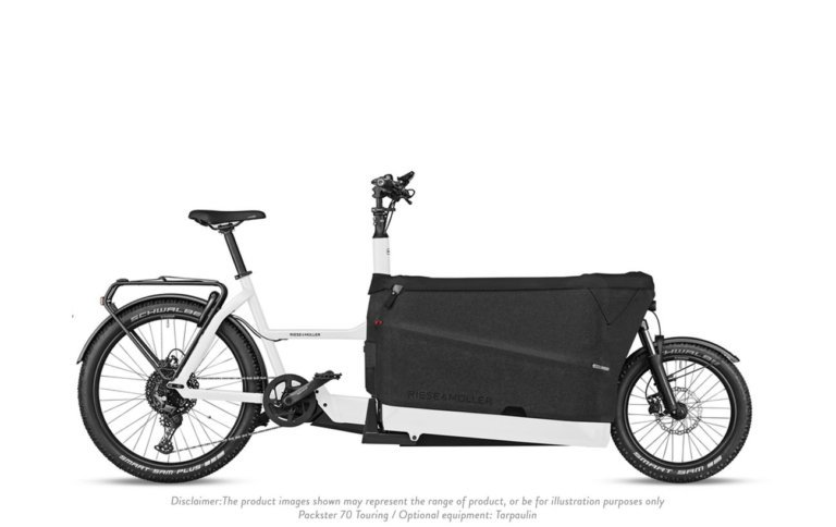 Riese and Muller Packster 70 Touring White - Propel E-Bikes