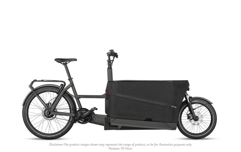Riese and Muller Packster 70 Vario Urban Grey Matt - Propel E-Bikes