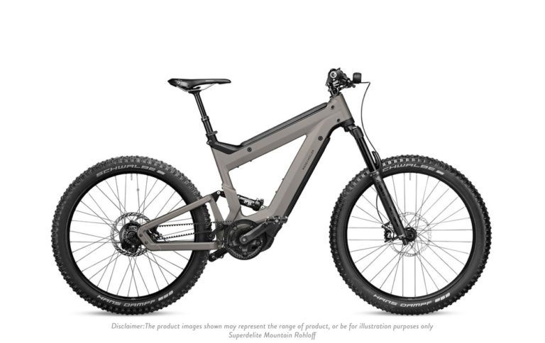 Riese and Muller Superdelite Mountain Rohloff Warm Silver Matt - Propel E-Bikes