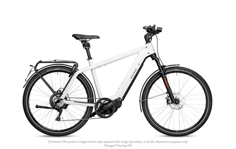 Riese and Muller Charger 3 GT Touring HS Ceramic White - Propel Electric Bikes