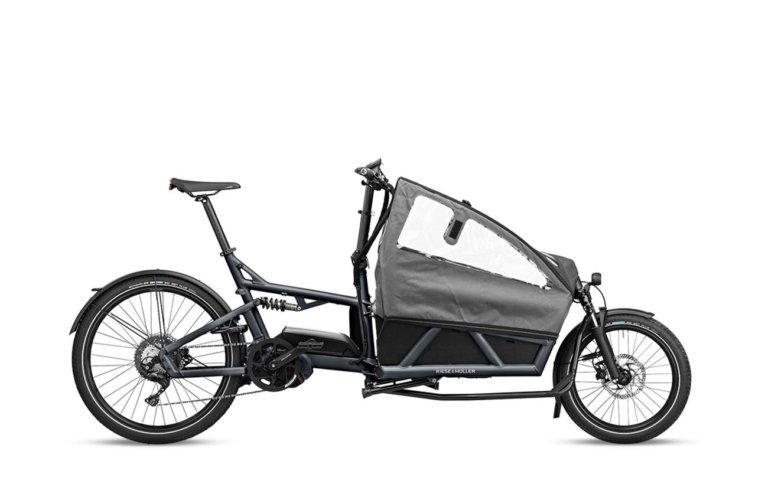 Riese and Muller Load 60 Touring Coal Grey Matt - Propel E-Bikes