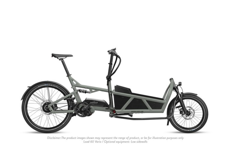 Riese and Muller Load 60 Vario Tundra Grey Matt - Propel E-Bikes