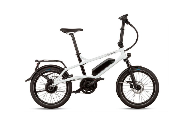 Riese & Muller Tinker Silent Crystal White - Propel Electric Bikes