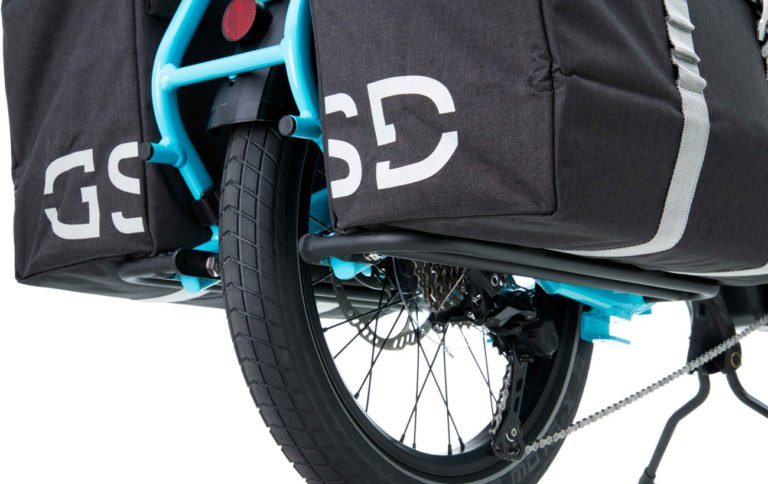 Tern Sidekick Lower Deck with Luggage - Propel E-Bikes