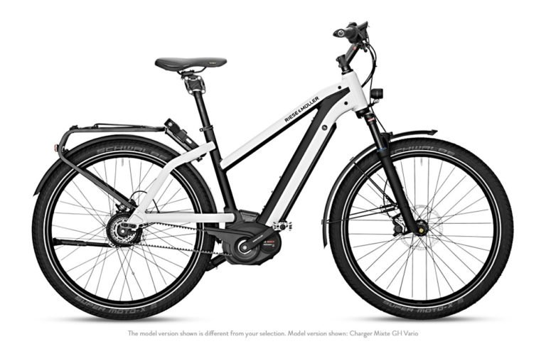 Riese & Muller Charger Mixte GT Vario HS Pearl White - Propel Electric Bikes