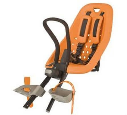 Yepp Mini Front Bicycle Child Carrier Orange for sale - Propel eBikes