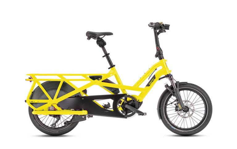 Tern GSD S10 LX School Bus Yellow - Propel Electric Bikes