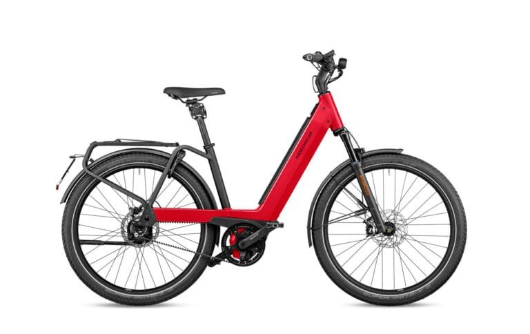 Riese & Muller Nevo3 GT Rohloff HS Dynamic Red Metallic - Propel Electric Bikes
