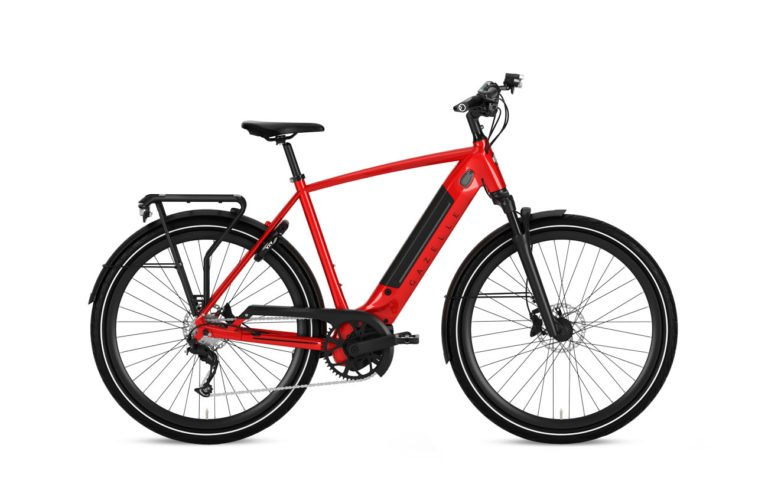 Gazelle Ultimate T10+ HMB Champion Red High Step - Propel Electric Bikes