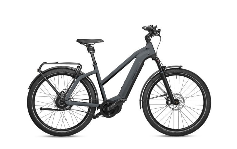 Riese & Muller Charger3 Mixte GT Vario Storm Blue Matt for sale - Propel eBikes