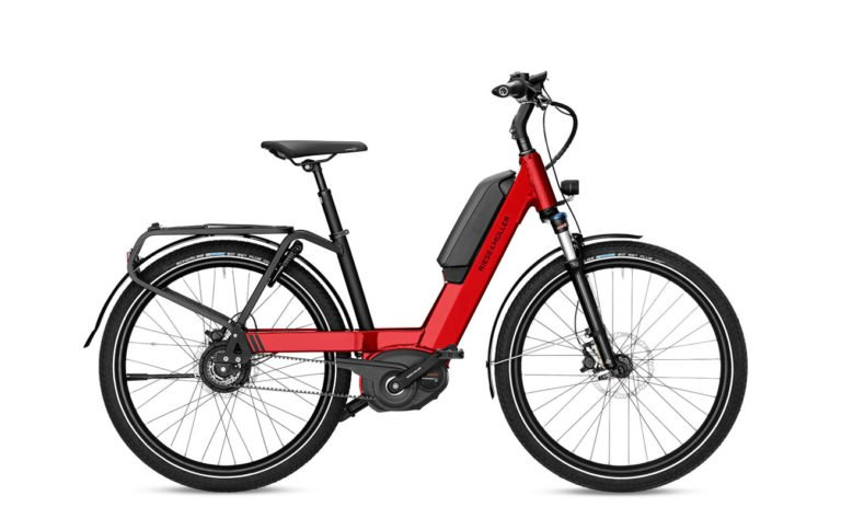 Riese & Muller Nevo Vario Fire Red - Propel Electric Bikes