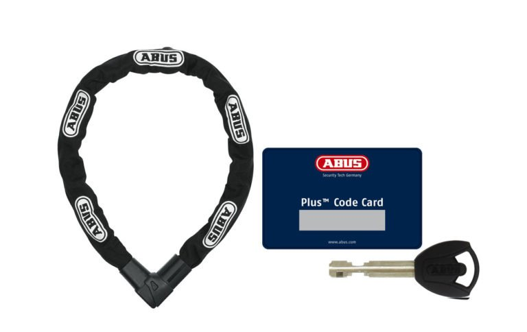 Abus City Chain 1010 Bike Chain Lock 110 cm Black: Propel Electric Bikes